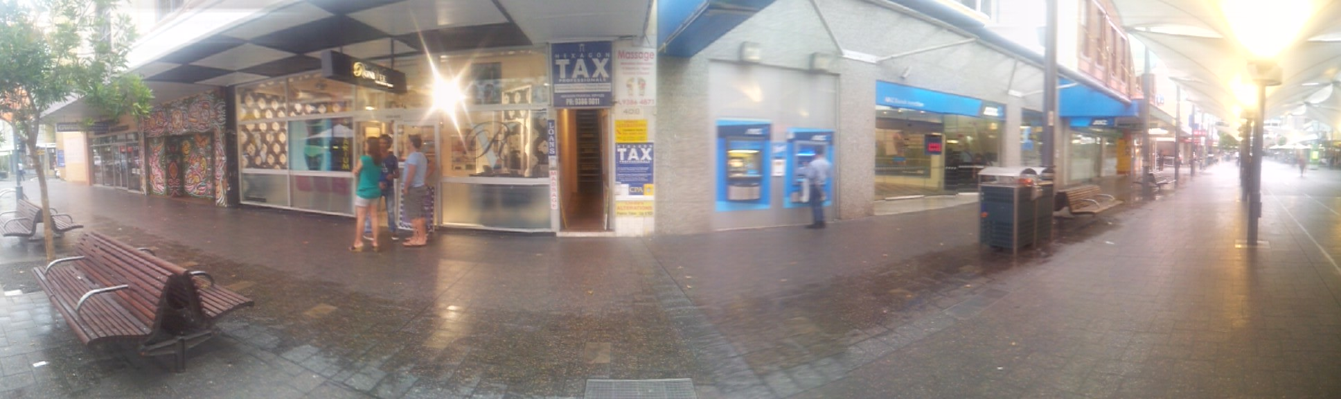 Entrance of Hexagon Tax Professionals - CPA Accountant Bondi Junction